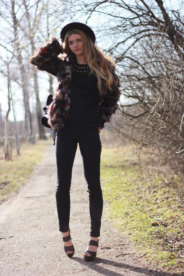 deadly in love hat coat jeans