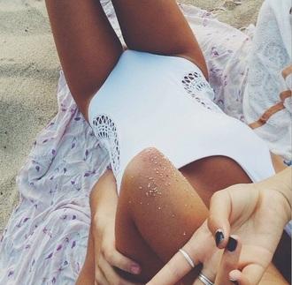 swimwear girl beach