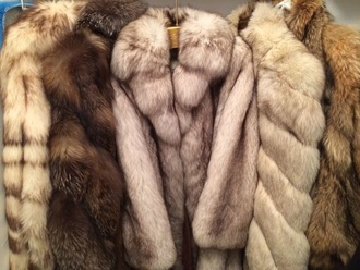 coat faux fur fur coat fur