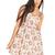 Rose Print Sun Dress