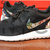 Nike Roshe Run Black Anthracite Asian Garden Floral Print Custom Men