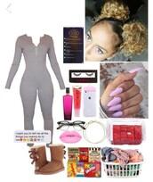 romper,jumpsuit,grey jumpsuit,ugg boots,iphone cover,iphone case