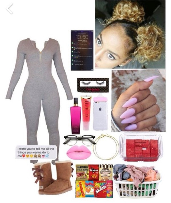 romper jumpsuit grey jumpsuit ugg boots iphone cover iphone case
