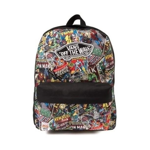 585337337d bag, vans, the avengers, marvel, vans of the wall, backpack - Wheretoget