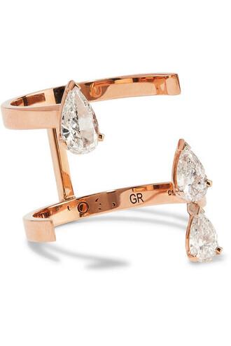 diamond ring rose gold rose ring gold jewels