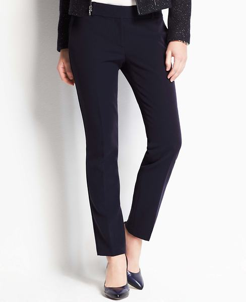 Petite Stretch Twill Ankle Pants | Ann Taylor