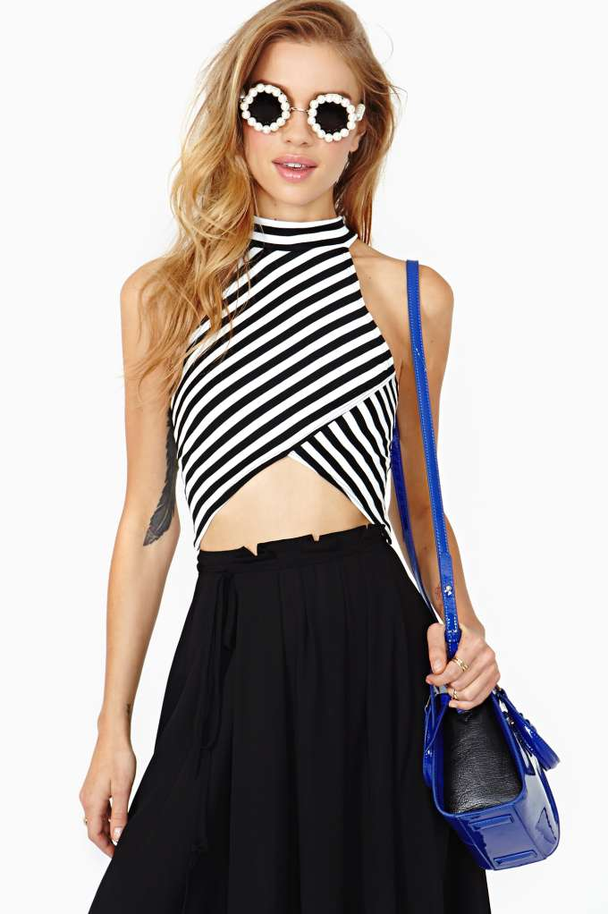 Right Direction Crop Tank in  Clothes Tops Cropped at Nasty Gal