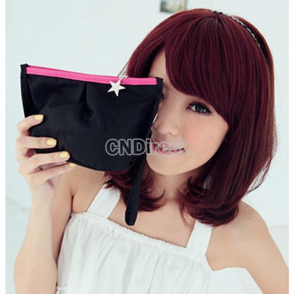 asian korea korean hair accessories hair color trend burgundy hair color hair colour