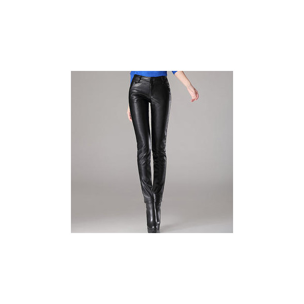 Faux-Leather Skinny Pants - Ringnor - Polyvore