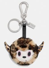 bag,bag charm,monster,charm,cute,bag accessoires,keychain,fur keychain