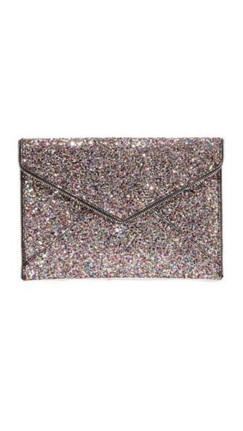 Rebecca Minkoff clutch silver bag