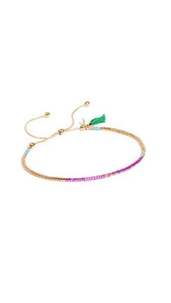 SHASHI green jewels