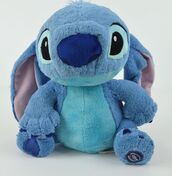 stitch,stuffed animal,toy,bear,blue,light blue,dark blue,turqouise,disney official,fluffy,floppy ears,cuddle,bedding,collector,stuffie,alien dog,experiment 626,lilo and stitch,plushie,soft,black,home accessory