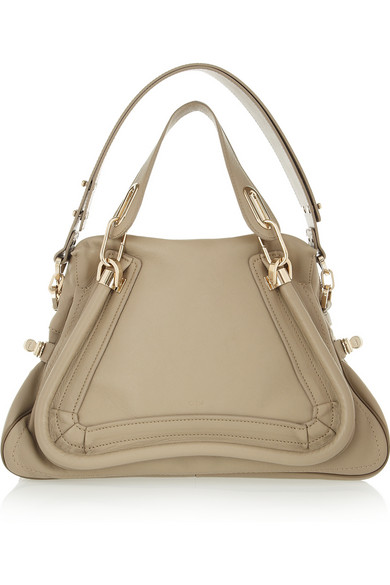 Chloé | Paraty medium leather shoulder bag | NET-A-PORTER.COM