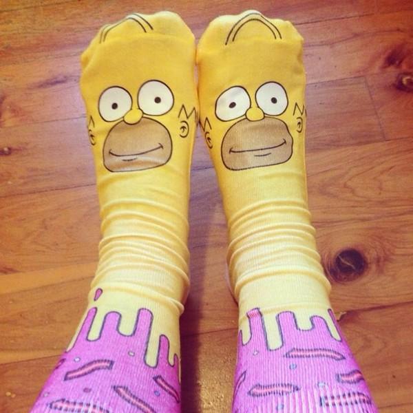 socks homer simpson
