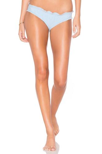 bikini mini gingham baby blue baby blue swimwear