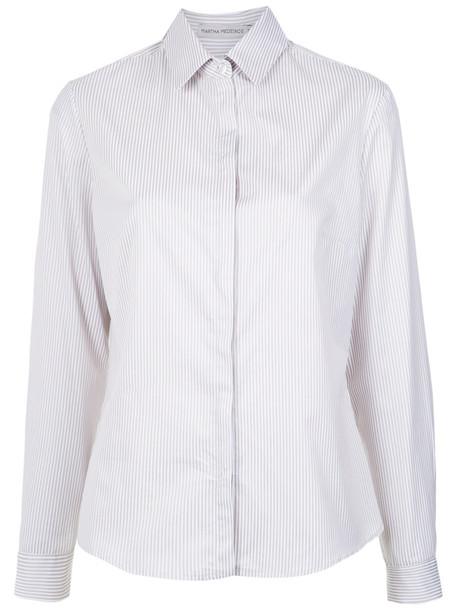 MARTHA MEDEIROS shirt women lace cotton top