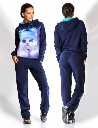 jumpsuit sweatshirt printed sweater cats fall outfits urban nike adidas sportswear tracksuit cool cute trendy hoodie girly girly wishlist fashion pants cat sweater