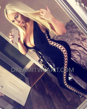 jumpsuit,dream it wear it,black,black jumpsuit,lace up,plunge v neck,clubwear,sexy,sexy outfit,summer outfits,spring outfits,fall outfits,winter outfits,holiday season,cute,girly,classy,date outfit,pool party,dope