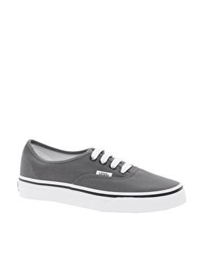 Vans | Vans Authentic Classic Gray Lace