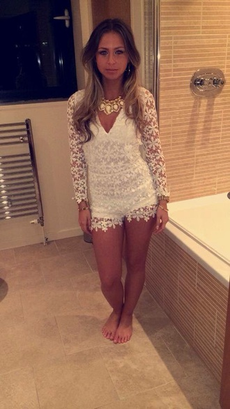 jumpsuit sexy sexy jumpsuits white white jumpsuit fashion vibe style outfit summer outfits