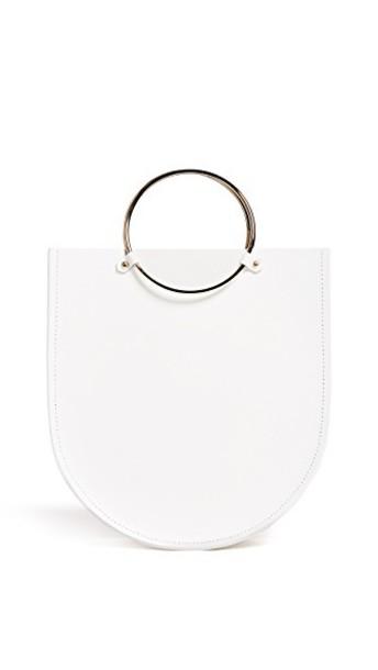 midi bag white
