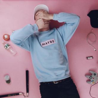 sweater fashion pastel sweater pastel tumblr menswear mens sweater tumblr girl tumblr sweater aesthetic
