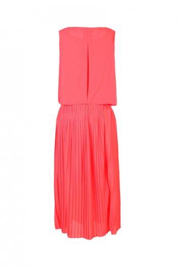 Charming red chiffon dress [ncskf0057]