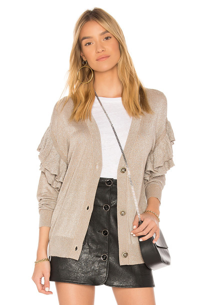 Line & Dot cardigan cardigan beige sweater