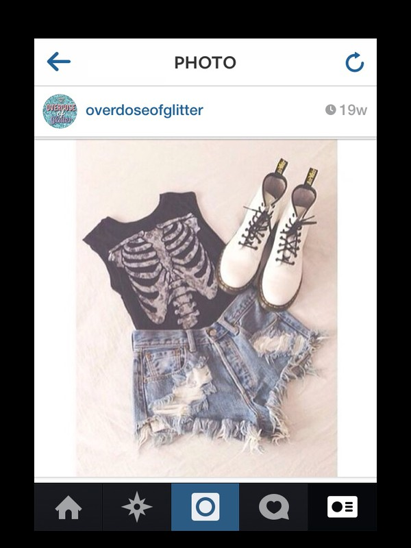 top black bones rib cage cute sassy shoes funny badass amazing flawless