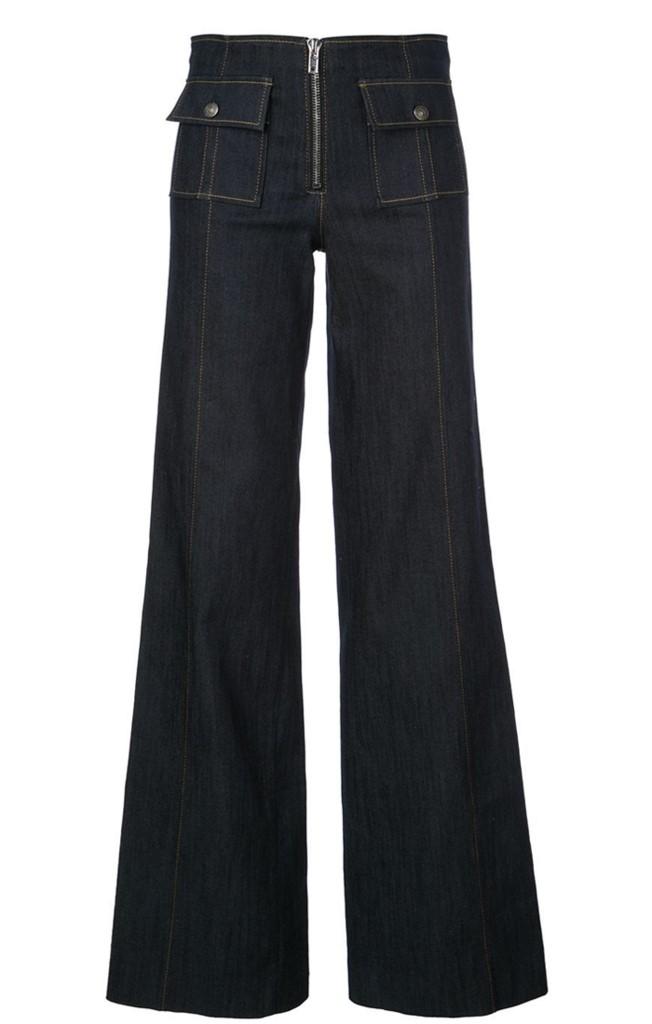 Long Azure Pant