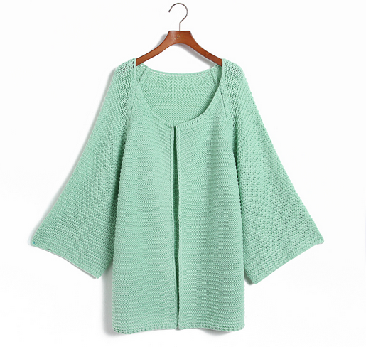 Pastel Knitted Casual Sweater
