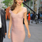 Pink mini dress - bqueen miranda kerr in cap-sleeve | ustrendy