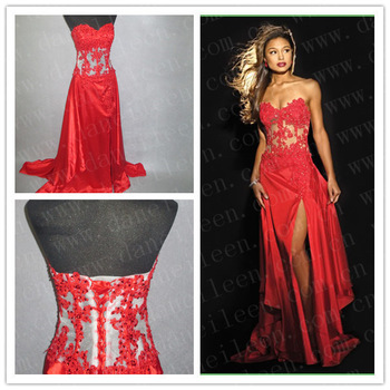com : Buy Freeshipping! ER2982 Real Sample Sexy Red Corset See ...