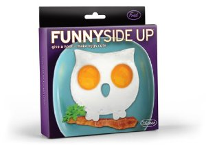 Funny Side Up Owl Shaped Egg Mold Novelty Egg Ring : Amazon.com : Kitchen & Dining