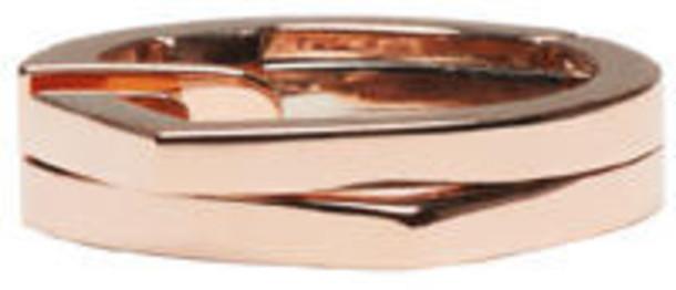 Repossi Rose Gold 2 Rows Antifer Ear Cuff