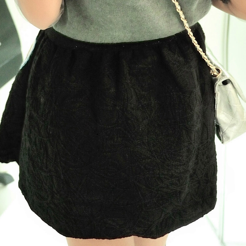 Modern Moment A-Line Mini Skirt [DLN0033] - PersunMall.com