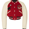 Cropped rib varsity jacket by coach 1941 | moda operandi