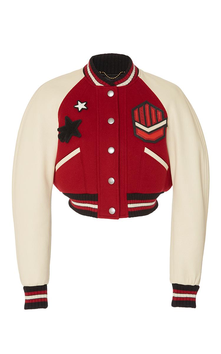 f2a9484484a Cropped Rib Varsity Jacket by Coach 1941 | Moda Operandi