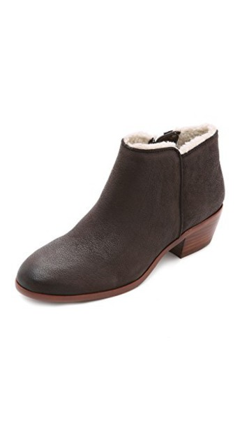 Sam Edelman booties coffee shoes