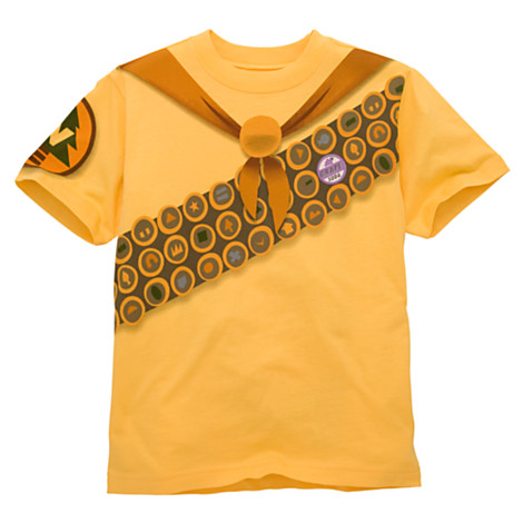 Up wilderness explorer tee boys tees tops shirts for Pixar logo t shirt