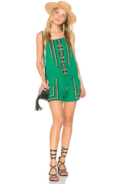PIPER Sublime Romper in green