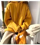 jacket,girly,tumblr,mustard,hoodie