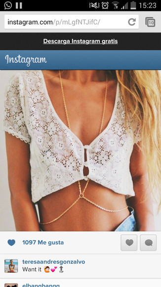 crochet white cute lace tank top white tank top t-shirt crop tops croptop crochet crop top beautiful beautiful, helpme white lace croptop crocheted jewels