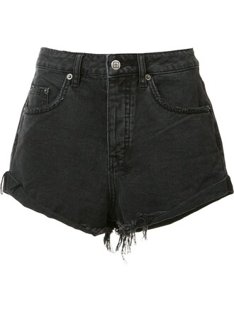 shorts denim shorts denim women cotton black