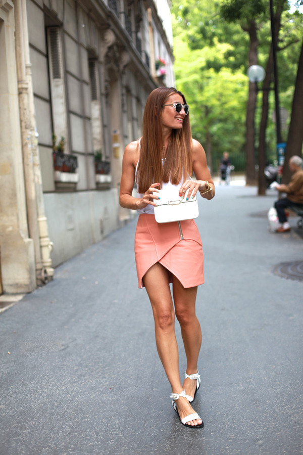 b a r t a b a c shoes top skirt jacket bag sunglasses