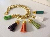 jewels,etsy,j crew,jcrew inspired,tassel,gold bracelet,gold jewelry,fashion jewelry,trendy