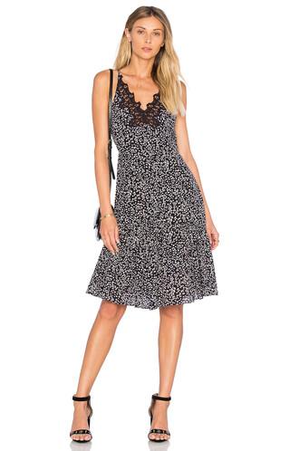 dress slip dress sleeveless black