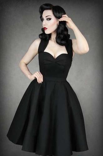 dress pin up 50s style vintage rockabily