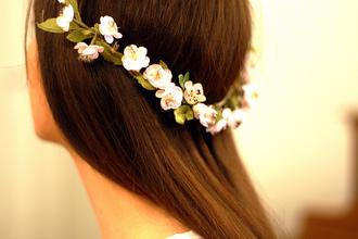 hat scarf headband hair band floral